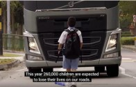 TruckWorld TV takes a look at Volvo Trucks Childrens safety video