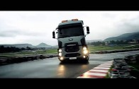 Fantastic short film of Ford Cargo 1846T drifting on a local race track