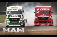 MAN Trucks at the 8th round of the European Truck Championship in Zolder