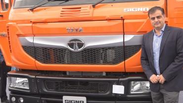 TATA Motors launches new SIGNA range of Medium & Heavy Commercial Vehicles at TruckWorld Jaipur