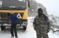 The Mahrindra Torro 25 Tipper tackles the world's highest motorable road