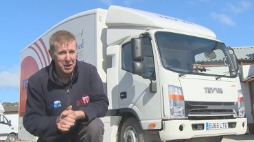 Great Episode 4 of TruckWorld TV at Bandvulc and Hermes 1m parcel centre and Tevva electric truck!!