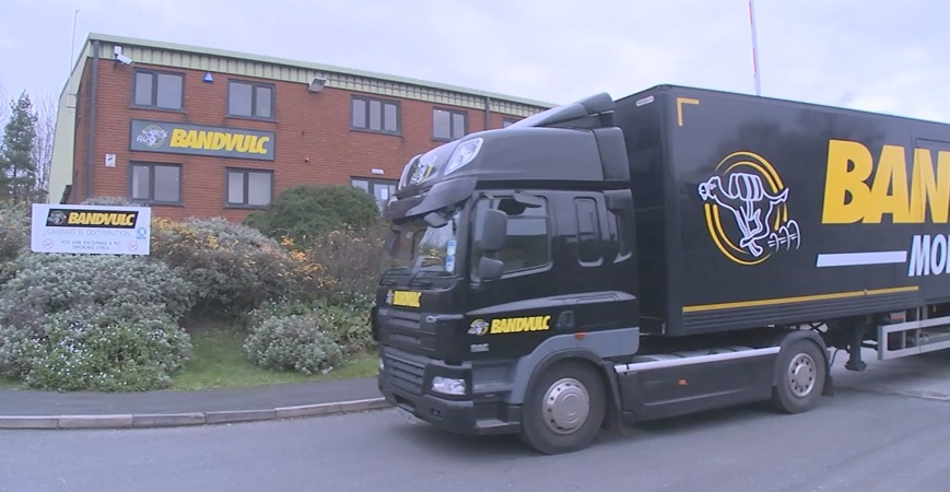 TruckWorld visits Hermes 1m parcel centre, Bandvulc tyres and tests Tevva electric truck!! Part 2