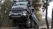 Mercedes-Benz Arocs review at MB Test Centre Sauberg