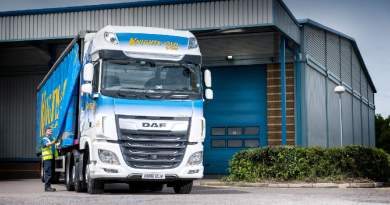 DAF Trucks XF 530 joins the Knights of Old fleet