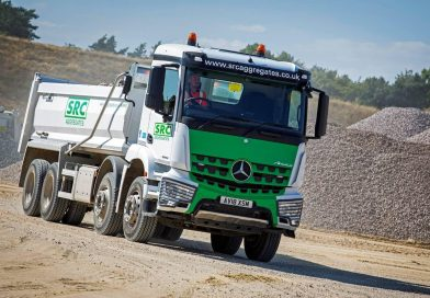 SRC Aggregates run their first Mercedes-Benz Arocs