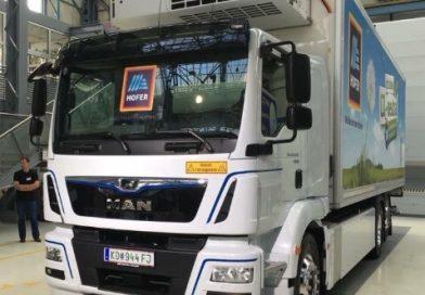 MAN 26 tonne Electric Truck
