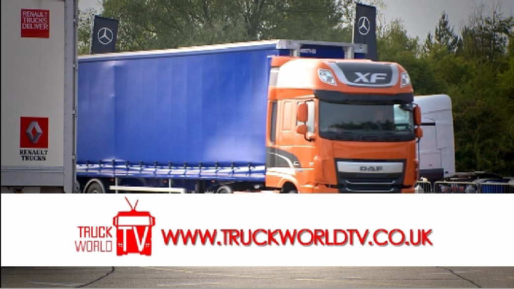 TruckWorld TV Road Test of the DAF XF