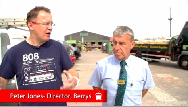 TruckWorld TV visit Builders Merchants C W Berrys in Leyland