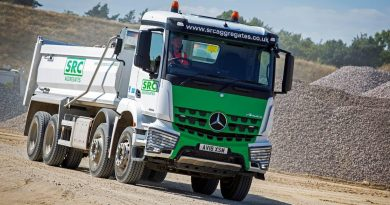 SRC Aggregates run their first Mercedes-Benz Arocs
